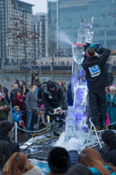 London Ice Sculpting Festival 2014