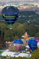 Away we go ... / Flight with Gary Davies at Bristol International Balloon Fiesta 2012
