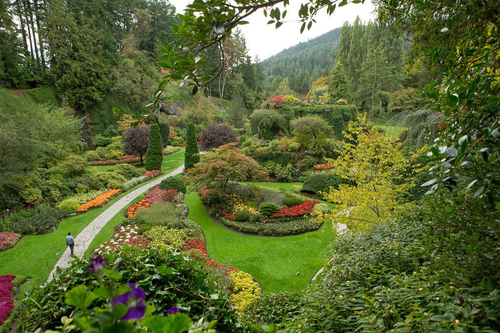 Butchart gardens in the fall neil cordell photography - What time does victoria gardens close ...